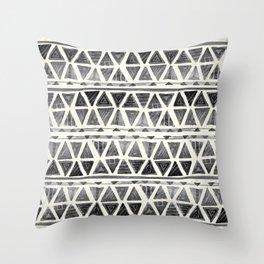 Tribal Geometric Chevron Stripes Throw Pillow