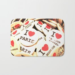 I love Paris Bath Mat