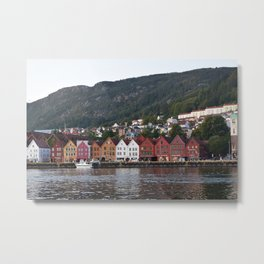 Bergen, Norway Metal Print