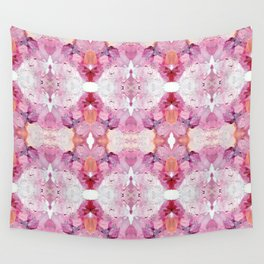 Dreamy Pink Palette (Abstract Painting) Wall Tapestry
