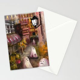 road ghost Stationery Cards