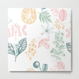 Tropical Botanics Metal Print
