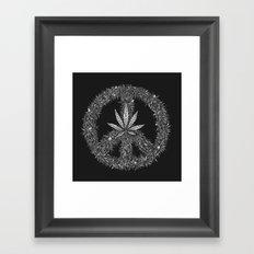 Green Peace Framed Art Print