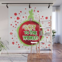 Soy to the World Wall Mural
