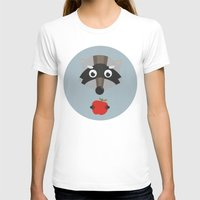 raccoon T-shirts featuring raccoon  by Emma S