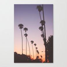 gradient sky Canvas Print