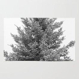 B&W White Spruce Rug