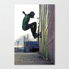 Graffiti Wallride II Canvas Print