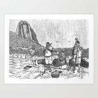 rio Art Prints featuring Rio by Steven Mast