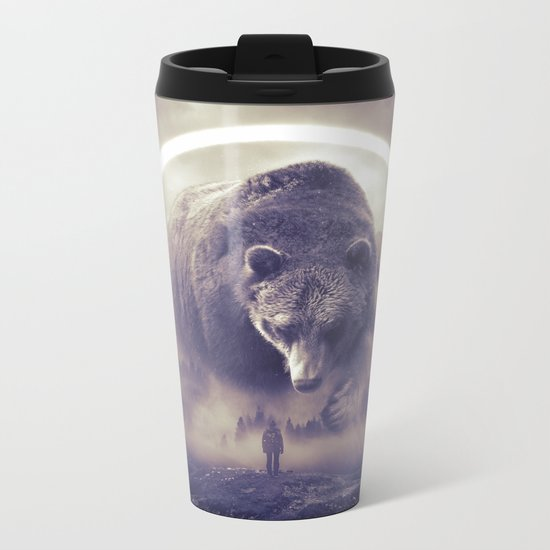 aegis II | bear Metal Travel Mug