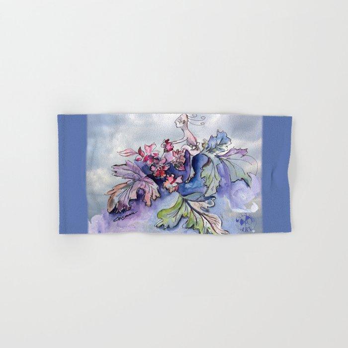Jester B's Herbal Nutrition Hand & Bath Towel