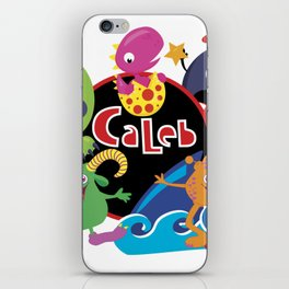C-Monsta for Caleb iPhone Skin