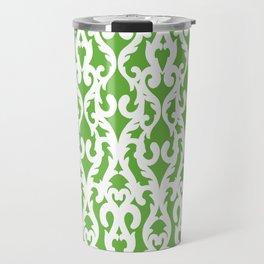 Modern Baroque Green Travel Mug