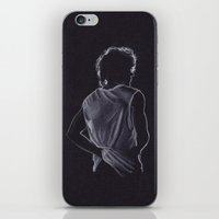 louis tomlinson iPhone & iPod Skins featuring Louis Tomlinson by Jen Eva