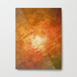 Ignition Cognition Abstract Metal Print