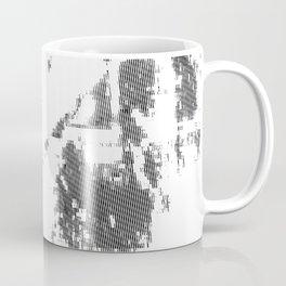 LeProcope_Glitch02 BW Coffee Mug