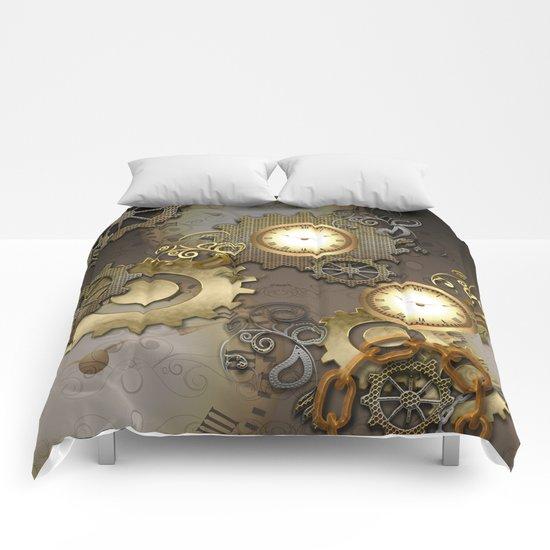 Abstract mechanical design Comforters