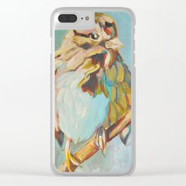 Sparrow Perch Clear iPhone Case