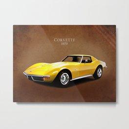 Chevrolet Corvette 1970 Metal Print