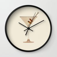 fitzgerald Wall Clocks featuring The Great Gatsby by Nicholas Ely