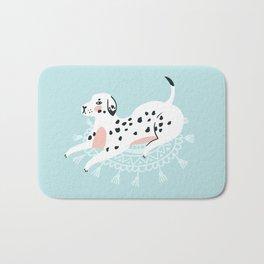 Cute dalmatian Bath Mat