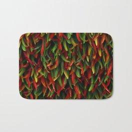 Hot chili peppers Bath Mat