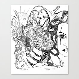 9-13-94 Canvas Print