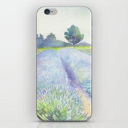 Lavender Fields iPhone Skin