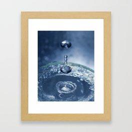 Liquid Play 7 Framed Art Print