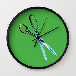 vintage scissors Wall Clock