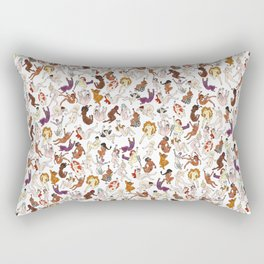 Women Rectangular Pillow