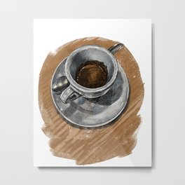 Espresso at Campanelli Metal Print