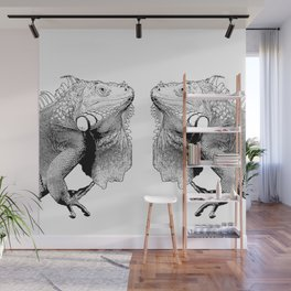 Iguanas (animals) Wall Mural