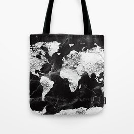 world map marble 4 Tote Bag