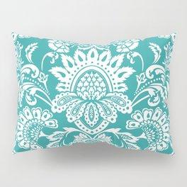 Damask in emerald Pillow Sham