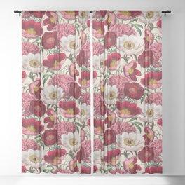 Flower garden Sheer Curtain