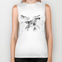 gundam Biker Tanks featuring Gundam Wing  by HobbSpot