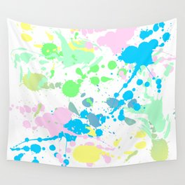 Paint Daubs (2) Wall Tapestry