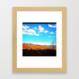 Magical Steamboat Framed Art Print