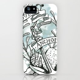 Love is an Anchor iPhone Case