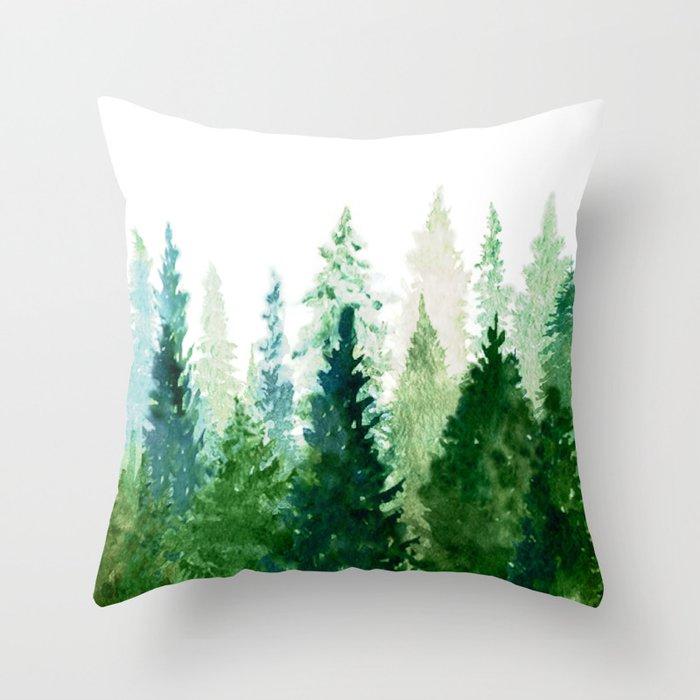 Pine Trees 2 Deko-Kissen