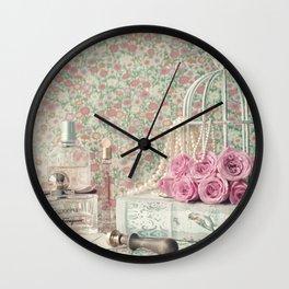Perfumed Letters Wall Clock