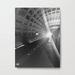 Capitol South Metro Metal Print