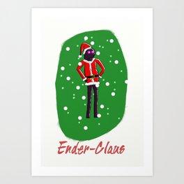 Ender-Claus Art Print
