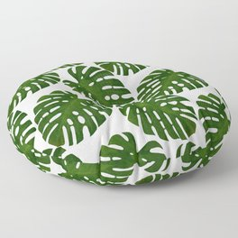 Monstera Leaf II Floor Pillow