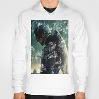steve rogers Hoodies featuring Steve Rogers 006 by TheTreasure