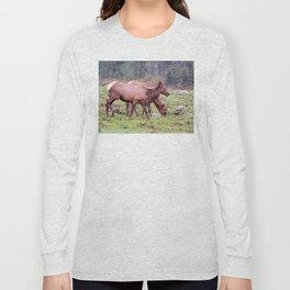 Snoqualmie Valley Elk Long Sleeve T-shirt