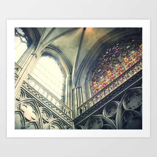 All the colors Art Print