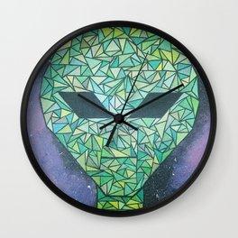 Illuminati cover-up Wall Clock