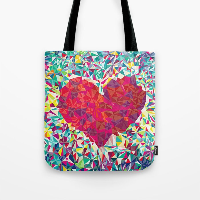 Abstract Love Tote Bag